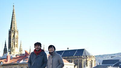 La sala - La memoria de San Sebastián y el buen humor de Yllana, Roberto Santiago y Carlos Santos - 20/02/16 - Escuchar ahora