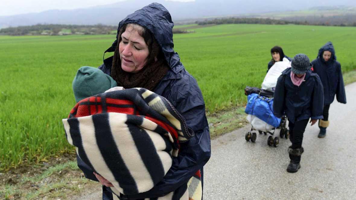 Entre paréntesis - Oxfam-Intermón pide en el Congreso que se promuevan políticas de reasentamiento para los refugiados - Escuchar ahora