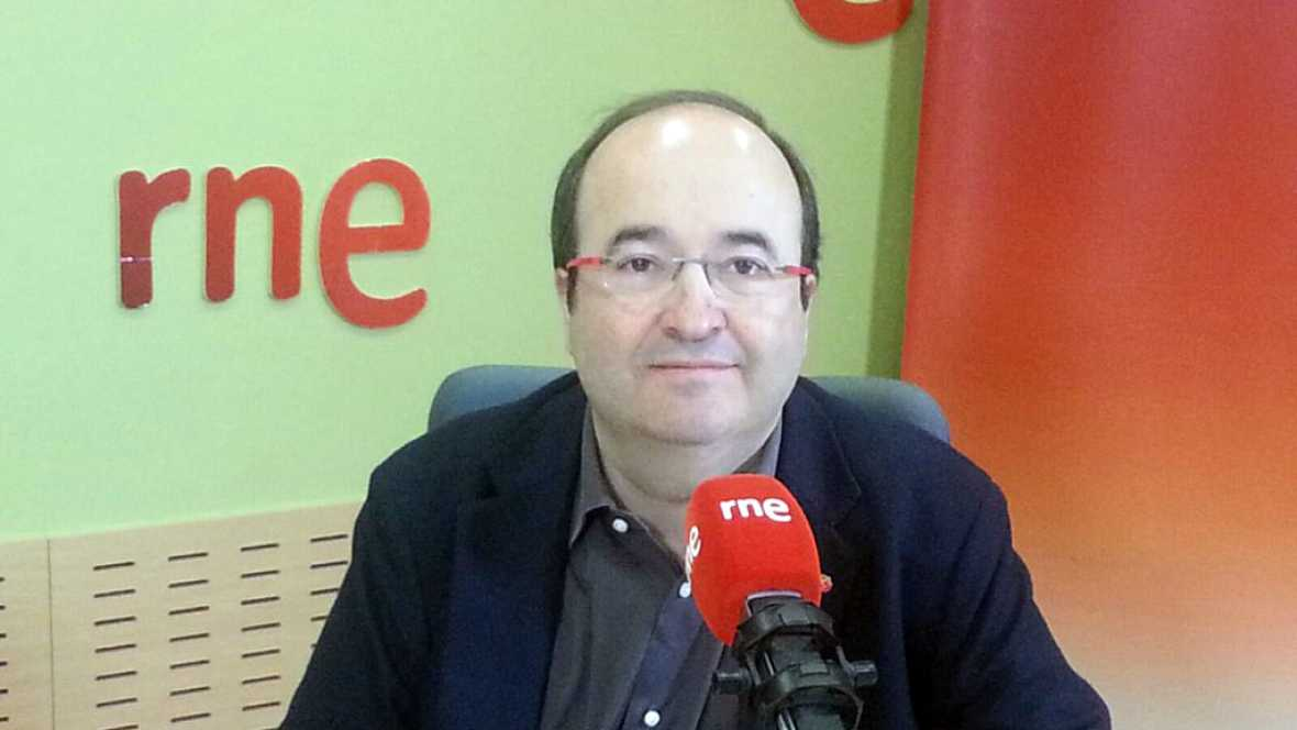 """Las mañanas de RNE - Iceta, sobre un Gobierno tripartito PSOE-C's-Podemos: """"Aunque sea difícil, tendría sentido"""" - Escuchar ahora"""