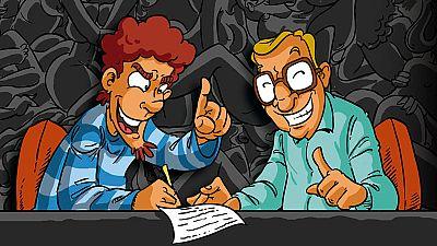 """Viñetas y bocadillos - """"Los guionistas"""" de Roberto Malo and Moratha - 10/04/16 - Escuchar ahora"""