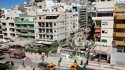 Diario de las 2 - Al menos tres heridos en el derrumbe de un edificio en el sur de Tenerife - Escuchar ahora