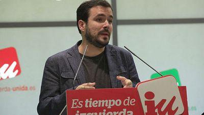 """24 horas - Alberto Garzón (IU): """"Con una candidatura conjunta con Podemos, como mínimo seríamos segunda fuerza"""" -  16/04/14 - Escuchar ahora"""