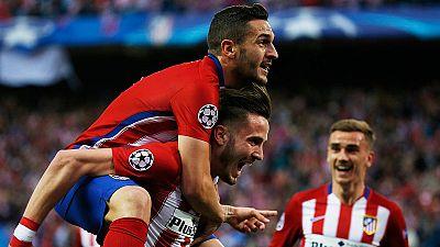 """Saúl, sobre su golazo: """"Ni con la derecha puedo compararme a Messi o Maradona"""""""