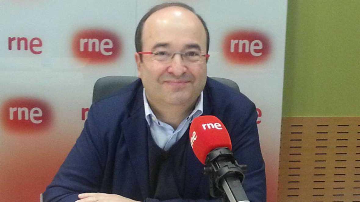 """Las mañanas de RNE - Miquel Iceta: """"La renuncia de Carme Chacón no es por no pelear"""" - Escuchar ahora"""