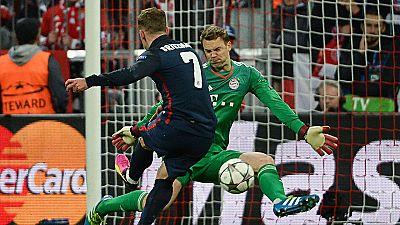 Tablero Deportivo - Gol de Griezmann contra el Bayern de Munich - Escuchar ahora