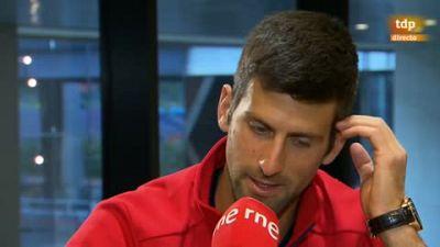 """Tablero deportivo - Djokovic: """"Estoy disfrutando de mi mejor tenis en Madrid"""" - Escuchar ahora"""