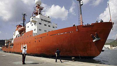 Españoles en la mar - El Hespérides ya está en casa - 05/05/16 - escuchar ahora