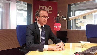 """Las mañanas de RNE - Alfonso Alonso califica de """"falta de respeto electoral"""" que C's pida la retirada de Mariano Rajoy - Escuchar ahora"""