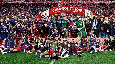 Informativos fin de semana - 24 horas - El Barça consigue el doblete, campeón de Copa - Escuchar ahora