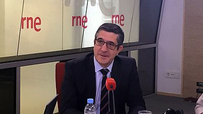 """Las mañanas de RNE - Patxi López, sobre Podemos: """"No entiendo a qué viene esa especie de abrazo del oso"""" - Escuchar ahora"""