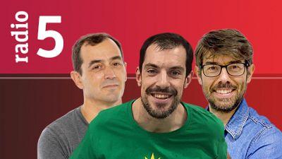 """El vestuario en Radio 5 - Del Bosque: """"El último día decidiré si Casillas o De Gea es titular"""" - 07/06/16 - escuchar ahora"""