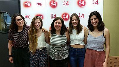 Va de cine - Entrevista a Carla Linares, Marta Cañas, Victòria Serra i Elena Martin 'Les amigues d'Àgata'