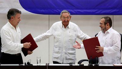 Am�rica hoy - Colombia y las FARC firman el acuerdo de alto el fuego - 23/06/16 - escuchar ahora