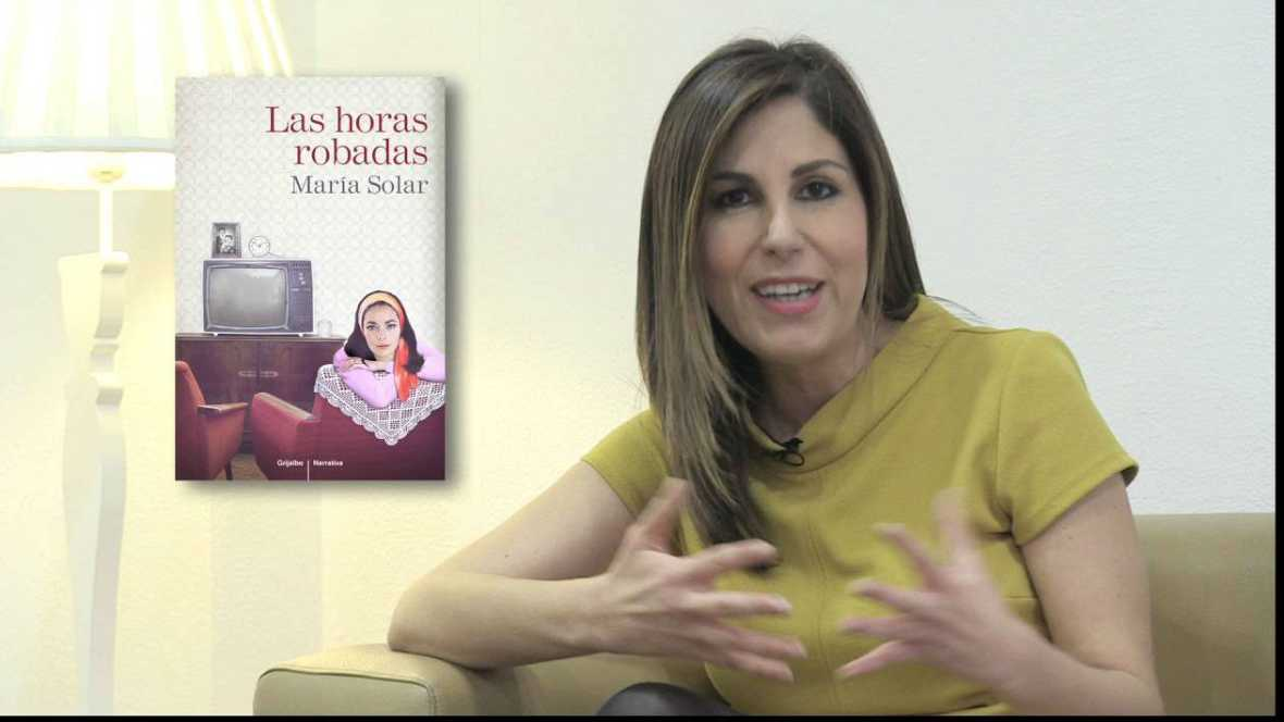"""Libros de arena - María Solar y su novela """"Las horas robadas"""" - 25/06/16 - Escuchar ahora"""