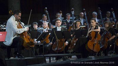 Fila cero - Festival Internacional de M�sica y Danza de Granada - 25/06/16 - escuchar ahora