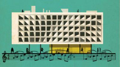 La casa del sonido - Encuentro sobre Música y arquitectura - 28/06/16 - escuchar ahora