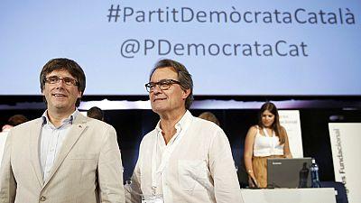 Diario de las 2 - El Partido Demócrata Catalán tendrá que cambiar de nombre - Escuchar ahora