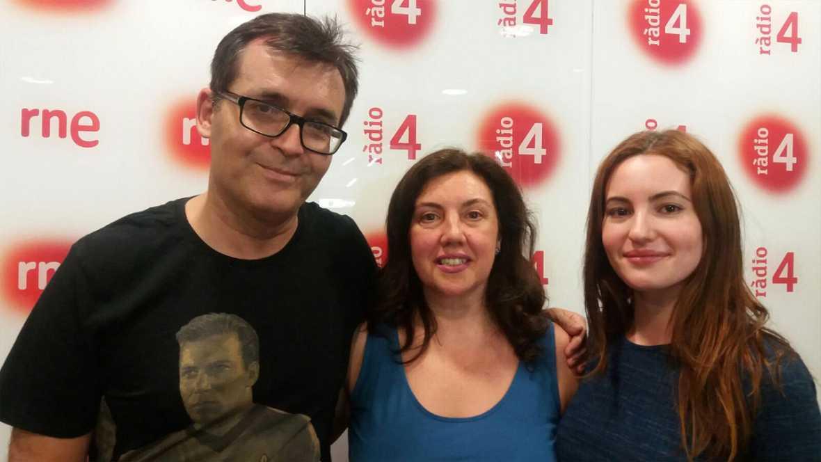 Va de cine - �ngel Sala, director del Festival de Sitges i l'actriu Ivana Baquero, protagonista de 'Hielo'