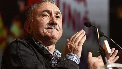 """Las mañanas de RNE - Pepe Álvarez (UGT) dice tener una """"gran opinión"""" de Ana Pastor - Escuchar ahora"""