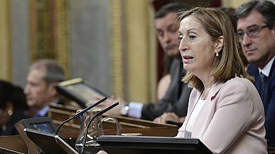 Las mañanas de RNE - Ana Pastor traslada a Felipe VI la lista de partidos con representación en el Congreso - Escuchar ahora