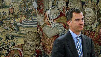 Boletines RNE - El rey recibe a la presidenta del Congreso en el Palacio de la Zarzuela - Escuchar ahora