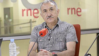"""Las mañanas de RNE - José María Álvarez (UGT): """"Echo de menos un debate sobre contenidos"""" - Escuchar ahora"""