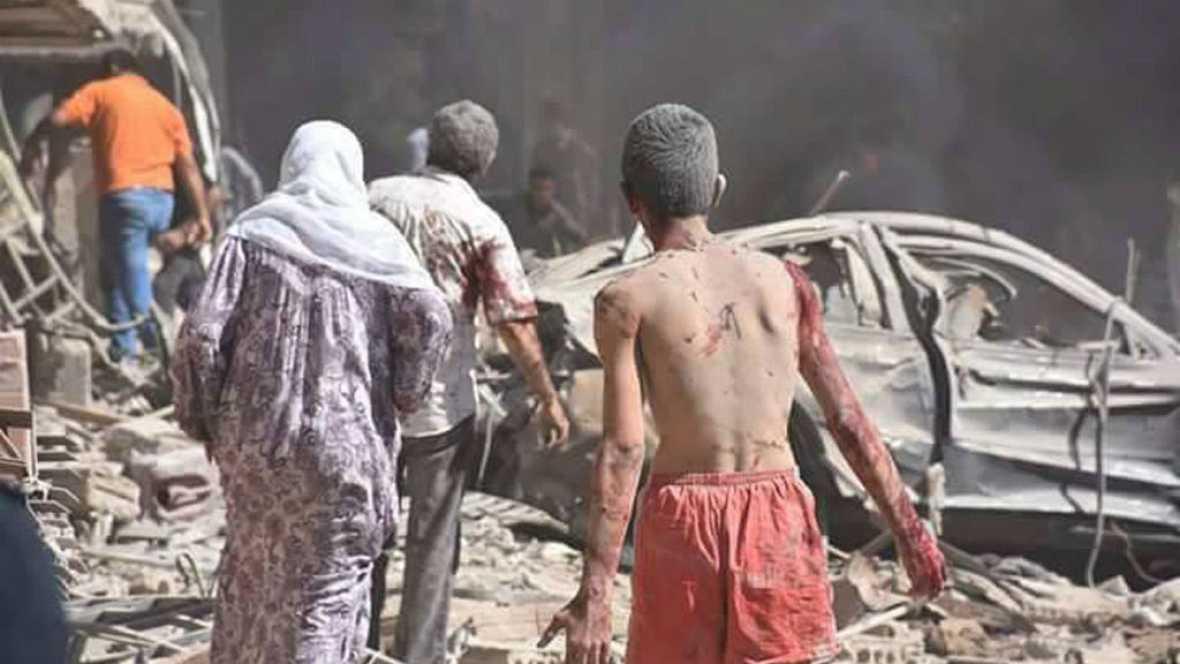 Diario de las 2 - Las fuerzas rusas abren cuatro corredores humanitarios en Alepo, Siria - Escuchar ahora