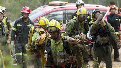 Diario de las 2 - Estabilizado el incendio de Artana en Castell�n - Escuchar ahora