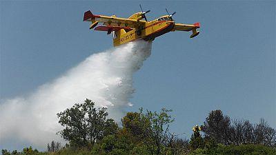 Sin control un incendio en Jerte que afecta a la reserva de la Garganta de los infiernos
