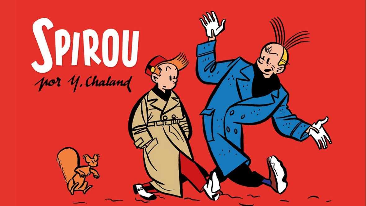 """Viñetas y bocadillos - """"Spirou"""" de Yves Chaland - 28/08/16"""