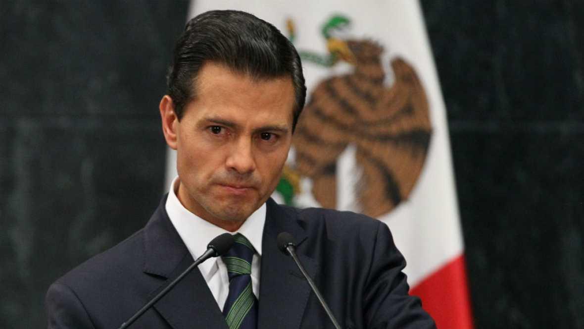 Las mañanas de RNE - Peña Nieto defiende la honradez de los mexicanos ante Trump - Escuchar ahora