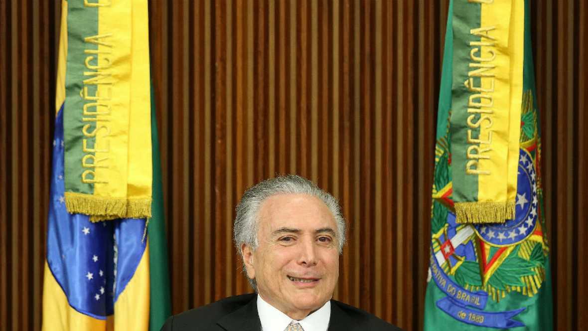Las mañanas de RNE - Michel Temer sustituye a Dilma Rousseff en Brasil - Escuchar ahora