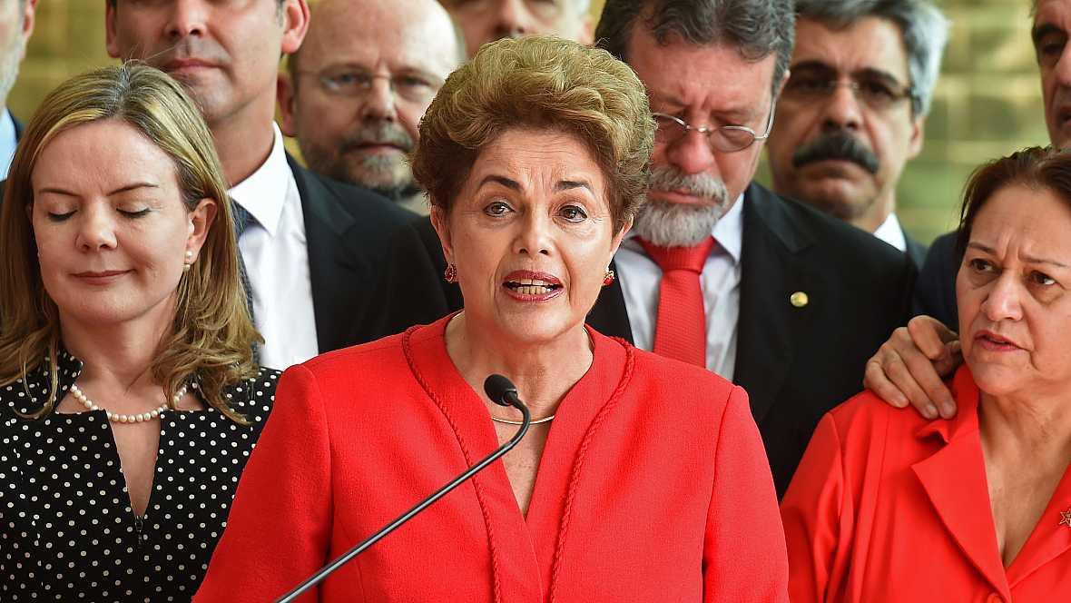 Emissão em Português - Presidente Dilma Rousseff é cassada pelo Senado em golpe parlamentar - 10/09/16 - Escuchar ahora