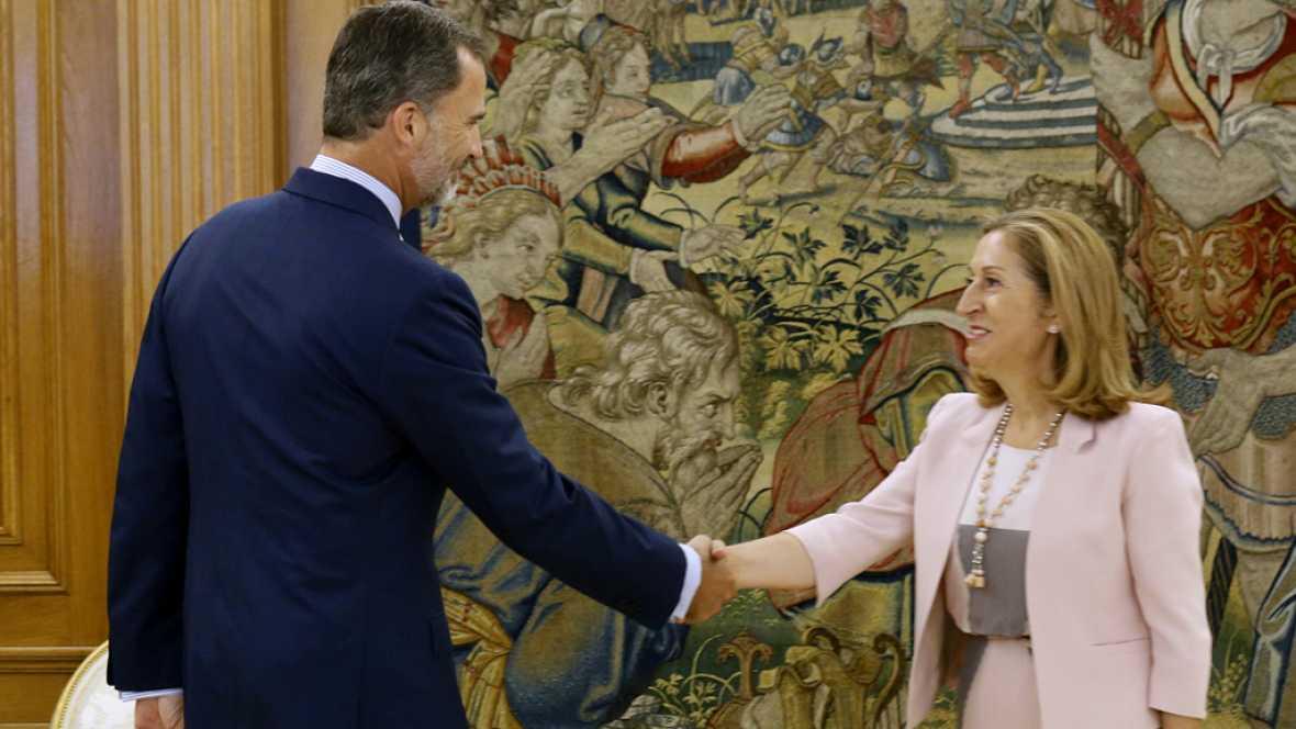 Diario de las 2 - El rey decide no abrir ahora una ronda de contactos con los partidos - Escuchar ahora