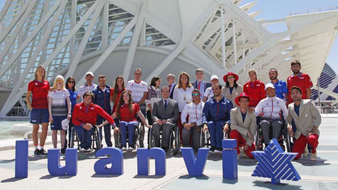 Marca España - Nueva equipación para los atletas paralímpicos españoles - Escuchar ahora