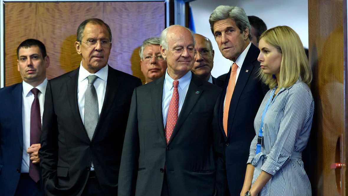 Informativos fin de semana - 14 horas - Un acuerdo para acabar con el yihadismo y lograr la paz en Siria - Escuchar ahora