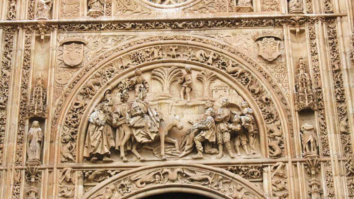 Reportajes Emisoras - Obras en la fachada plateresca de la Universidad de Salamanca - 12/09/16 - Escuchar ahora