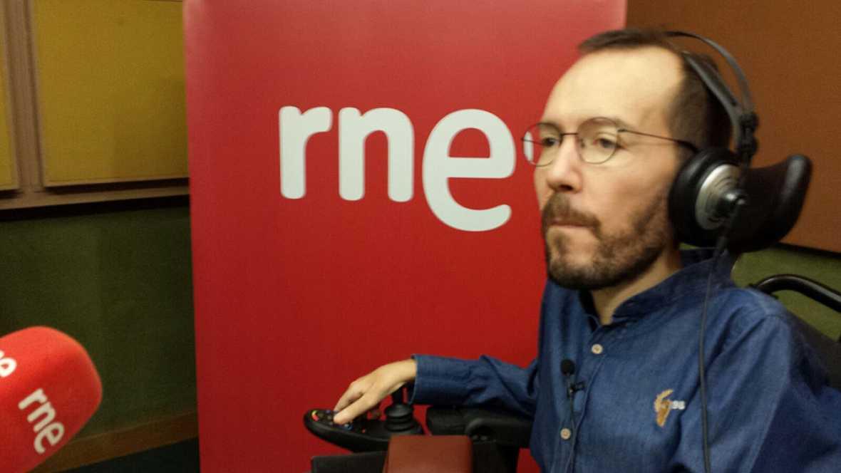 Las mañanas de RNE - Echenique (Podemos) pide al PP que pase a la oposición para poder así renovarse - Escuchar ahora