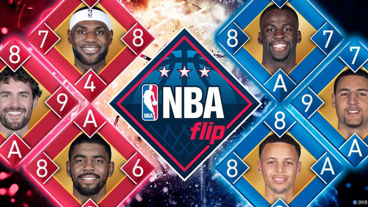 Marca España - Llega al mercado NBA flip, el segundo juego oficial de la NBA realizado por una empresa española - escuchar ahora