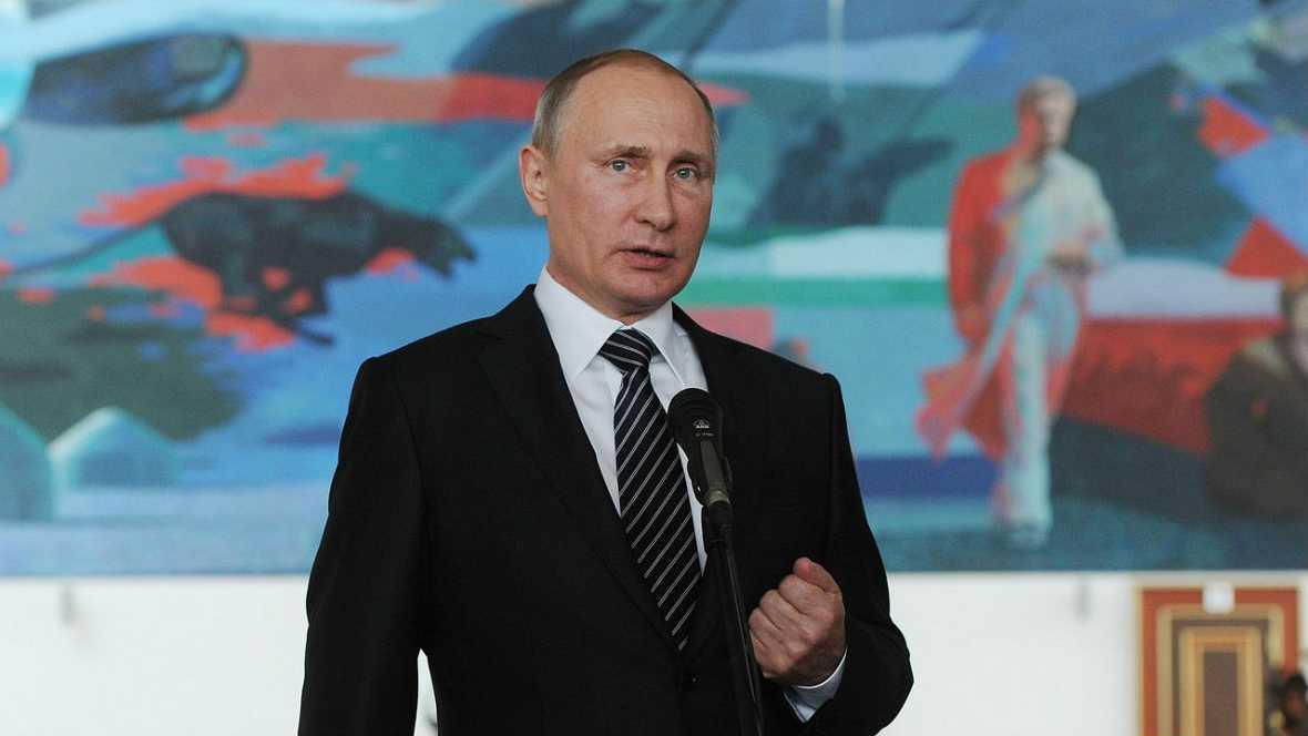 Boletines RNE - Putín afirma que en Siria solo el Ejército de al Assad cumple la tregua - Escuchar ahora
