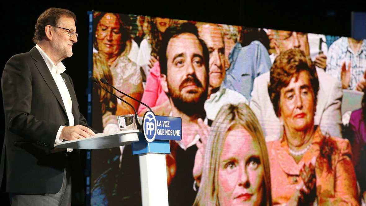Informativos fin de semana - 14 horas - Rajoy califica de antipatrióta a Sánchez por mantenerse en el No - Escuchar ahora