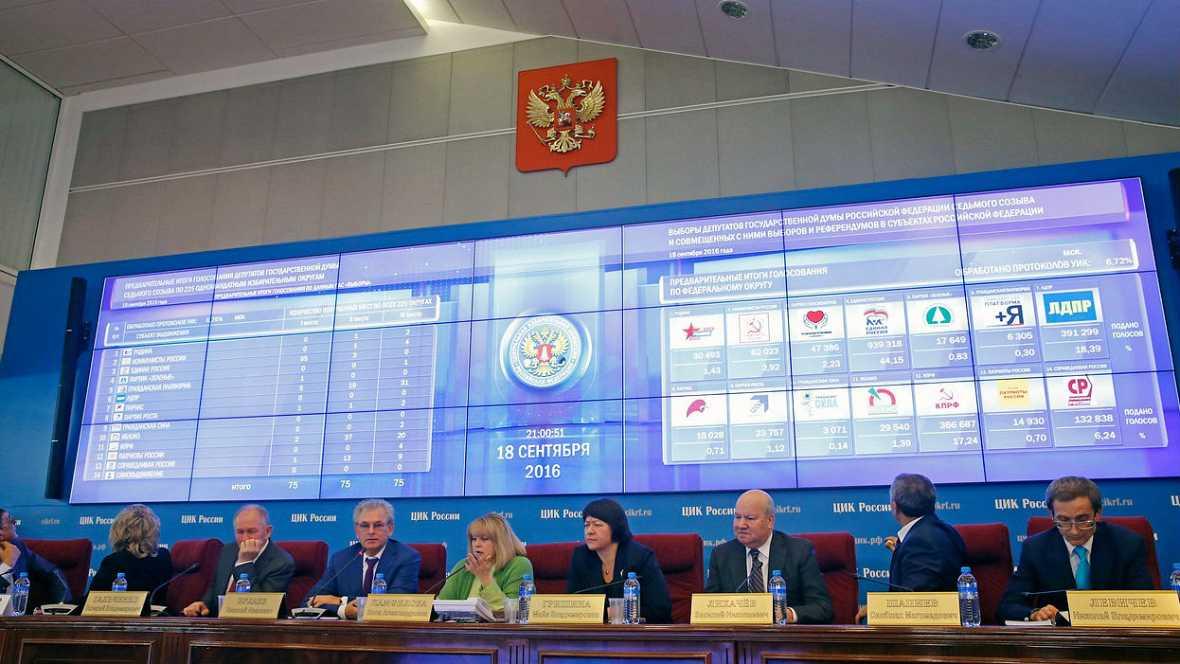 """""""Rusia Unida"""" de Putin gana las elecciones - Escuchar ahora"""