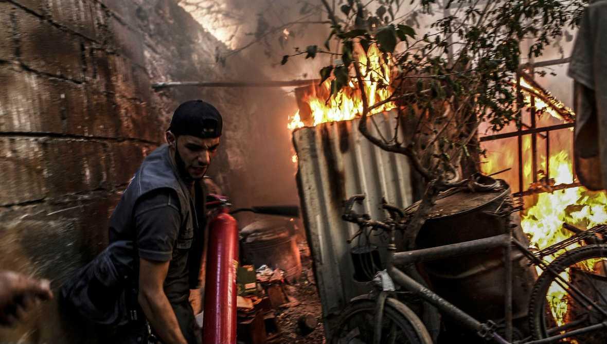 Informativos fin de semana - 24 horas - En Siria civiles y rebeldes niegan haber notado la implementación de la tregua - Escuchar ahora