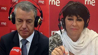 Las mañanas de RNE - Elecciones autonómicas 25S: Iñigo Urkullu (PNV) y Maddalen Iriarte (EH Bildu) - Escuchar ahora