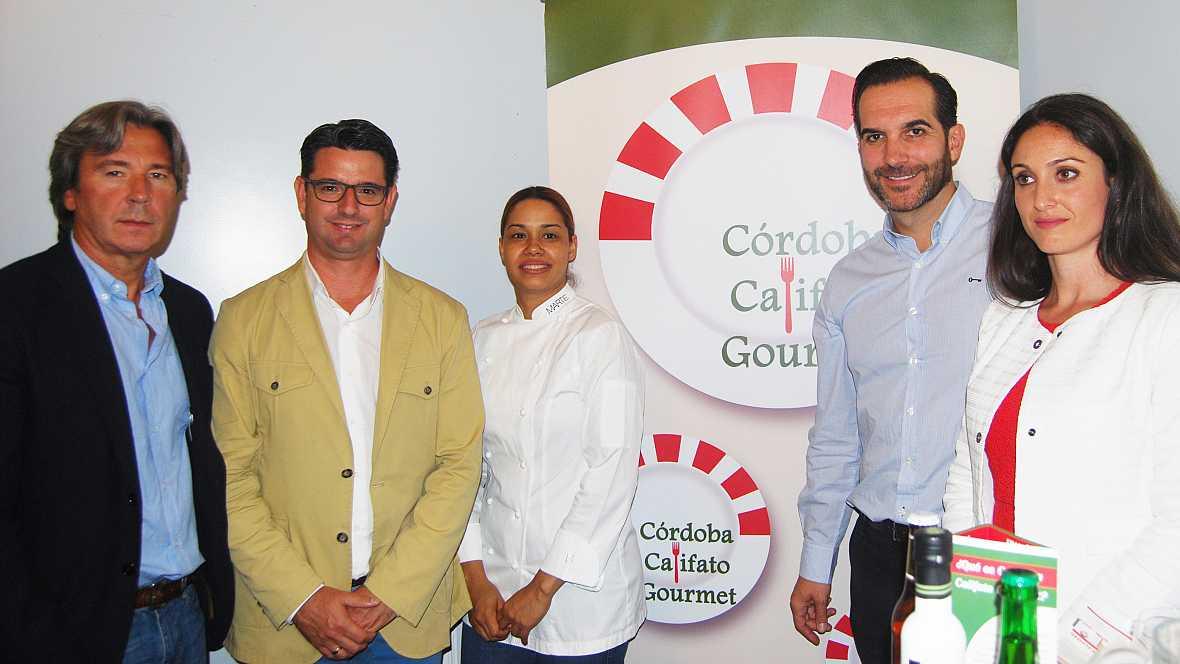 Marca España - 11 estrellas Michelin y 20 soles Repsol se darán cita en la III edición de Córdoba Califato Gourmet - 20/09/16 - escuchar ahora