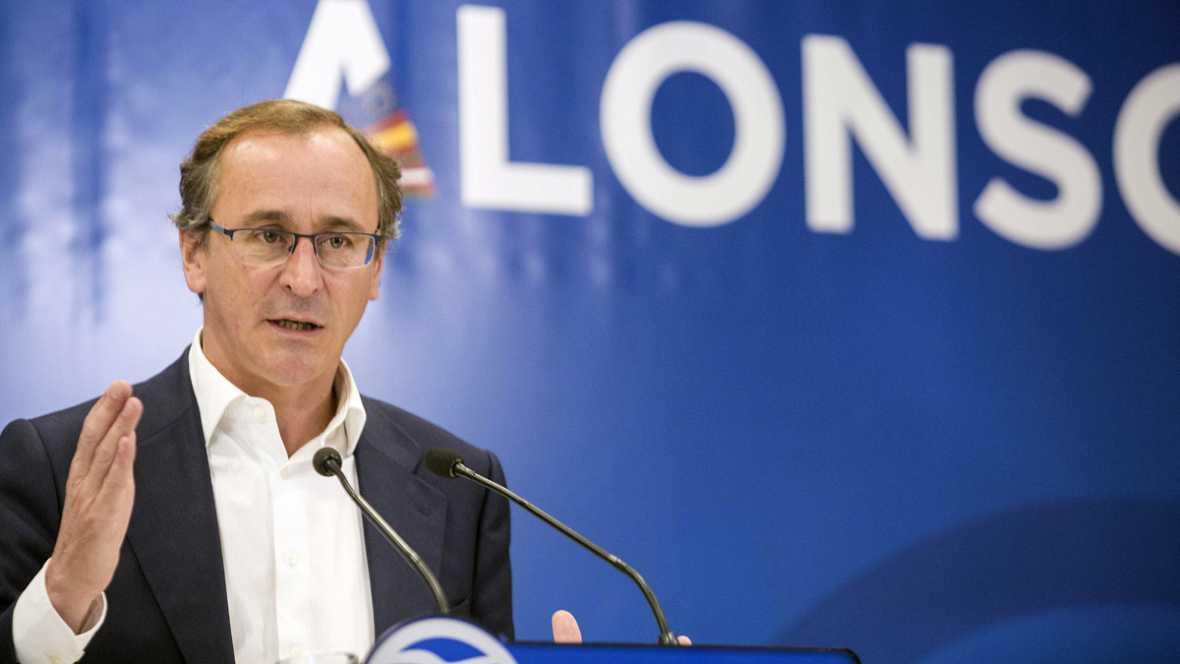 """Alfonso Alonso, tras las palabras del rey sobre el bloqueo político: """"Sánchez es el que más se tiene que dar por aludido"""""""