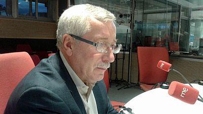 """24 horas - Ignacio Fernández Toxo (CC.OO.): """"No descarto tomar una iniciativa para evitar unas terceras elecciones"""" - 22/09/16 - Escuchar ahora"""