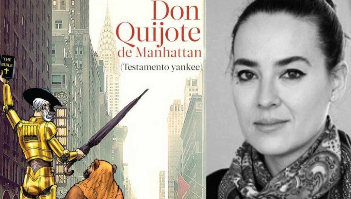 Libros de arena - Don Quijote en Manhattan, con Marina Perezagua - 24/09/16 - Escuchar ahora