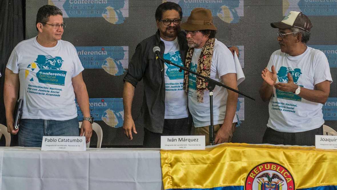 Cinco Continentes - Colombia entra en la era de la paz y Siria sigue sumida en un infierno sangriento - 23/09/16 - Escuchar ahora