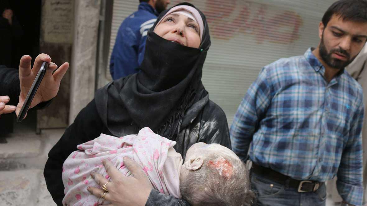 """Un testigo en Alepo: """"Hay ataques aéreos matando cada segundo"""""""